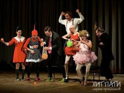 Профессиональные артисты клоунады, пантомимы